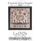 La D Da Stickvorlage Elizabeth Jones Sampler