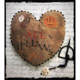 Lucy Beam Stickvorlage All Hallows Eve Heart