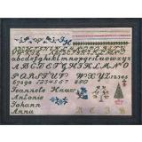 Needlemade Designs Stickvorlage Jeannete Hauer Sampler
