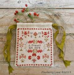 Pineberry Lane Stickvorlage Friends Gift 1811
