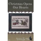 Kreuzstichvorlage Rosie & Me Creations - Christmas Opens our Hearts