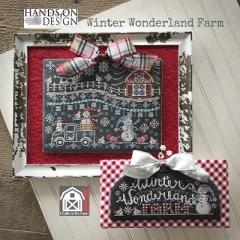 Kreuzstichvorlage Hands On Design - Winter Wonderland Farm