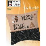Kreuzstichvorlage Heart In Hand Needleart - Wee One Stay Bumble