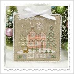 Country Cottage Needleworks Stickvorlage Glitter Village Glitter House 6