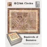 Ink Circles Stickvorlage Squirrels Of Sumatra
