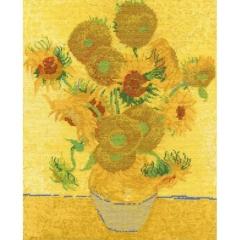 DMC Stickpackung BL1063/71 Sonnenblumen van Gogh