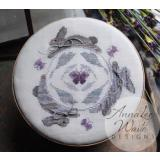 Annalee Waite Designs Stickvorlage Rabbit Round