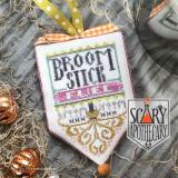Hands On Design Stickvorlage Scary Apothecary Broom Stick Fuel