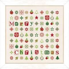 Lilipoints Stickvorlage Christmas Stars