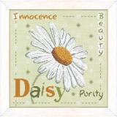 Lilipoints Stickvorlage Daisy
