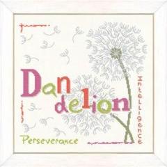 Lilipoints Stickvorlage Dandelion