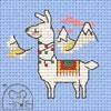 Stickpackung Mouseloft Kreuzstich - Llama