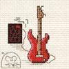 Stickpackung Mouseloft Kreuzstich - Electric Guitar