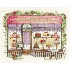 Stickpackung DMC BK1542 Shop Konditorei