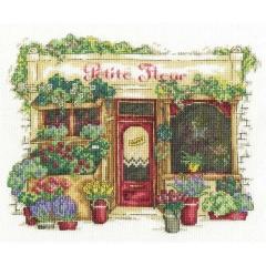 Stickpackung DMC BK1671 Shop Blumenladen
