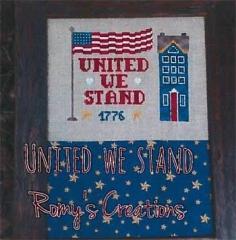 Romys Creations Stickvorlage United We Stand