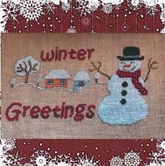 Romys Creations Stickvorlage Winter Greetings II