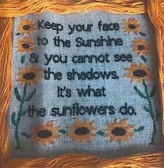 Romys Creations Stickvorlage Sunflowers
