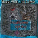 Romys Creations Stickvorlage Welcome Spring Sheep & Bunny