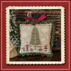 Little House Needleworks Stickvorlage Jack Frost's Tree Farm 3 Family Fun