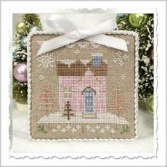 Country Cottage Needleworks Stickvorlage Glitter Village Glitter House 8