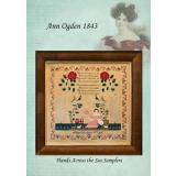 Hands Across The Sea Samplers Stickvorlage Ann Ogden 1843
