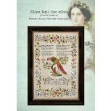 Hands Across The Sea Samplers Stickvorlage Eliza Bell Cox 1832