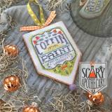 Hands On Design Stickvorlage Scary Apothecary Coffin Paint