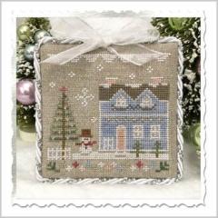 Country Cottage Needleworks Stickvorlage Glitter Village Glitter House 9