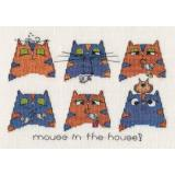 MarNic Designs Stickvorlage Mouse In The House