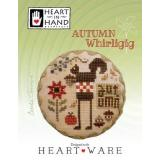 Heart In Hand Needleart Stickvorlage Autumn Whirligig