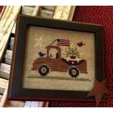 Stickvorlage Homespun Elegance Ltd An All American Truck