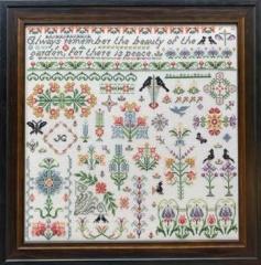 Rosewood Manor Designs Stickvorlage Bramley Garden