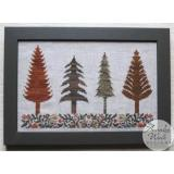 Annalee Waite Designs Stickvorlage Autumn Trees