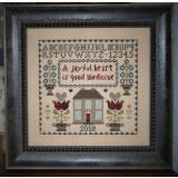 Abby Rose Designs Stickvorlage Joyful Heart