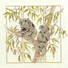 Stickpackung Oehlenschläger 09421 Koalabären 35x35