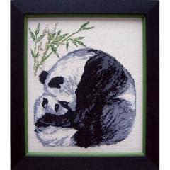 Stickpackung Oehlenschläger 21302 Pandas 32x37