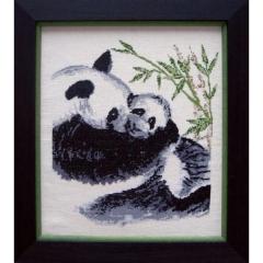Stickpackung Oehlenschläger 21304 Pandas 32x37