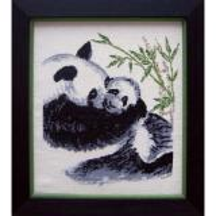 Stickpackung Oehlenschläger 21305 Pandas 32x37