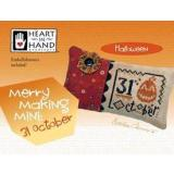 Heart In Hand Needleart Stickvorlage Merry Making Mini 31 October