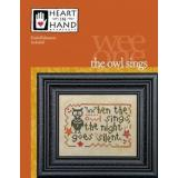 Heart In Hand Needleart Stickvorlage Wee One The Owl Sings
