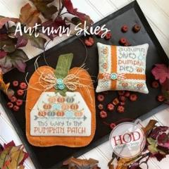 Stickvorlage Hands On Design Autumn Skies