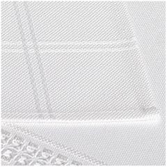 Tischdecke Rico Design 17935.50.21 weiß 90x90