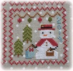 Annie Beez Folk Art Stickvorlage Snowy 9