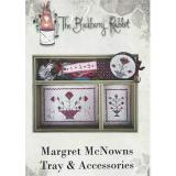 Blackberry Rabbit Stickvorlage Margret McNowns Tray & Accessories