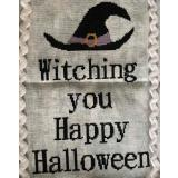 Romys Creations Stickvorlage Witching Happy Halloween