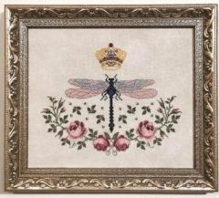 Stickvorlage Blackberry Rabbit Dragonfly Queen