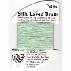 Rainbow Gallery Silk Lame Braid Lite Mint SP43