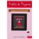 Trellis & Thyme Stickvorlage Peppermint Hot Cocoa