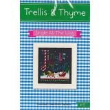 Trellis & Thyme Stickvorlage Jingle All The Way